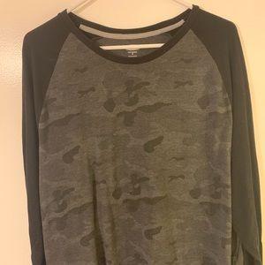 Men's Old Navy Two Tone Camo Shirt XL